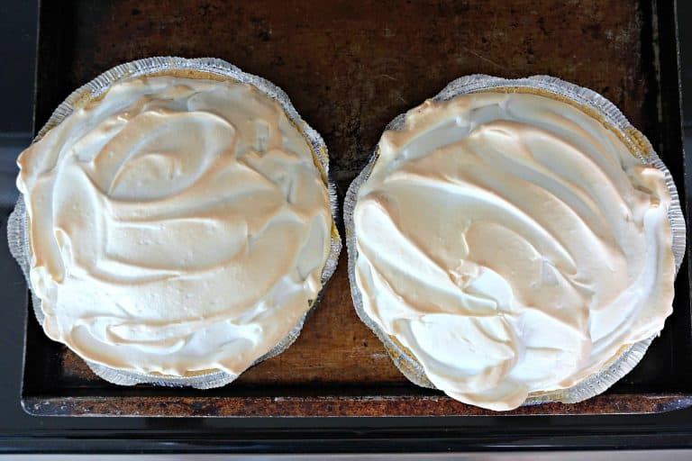 meringue topped pudding pies