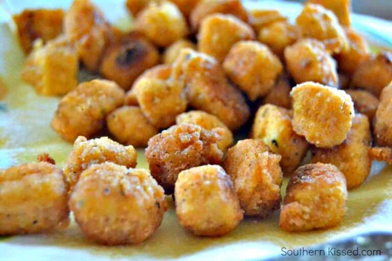 popcorn tofu nuggets