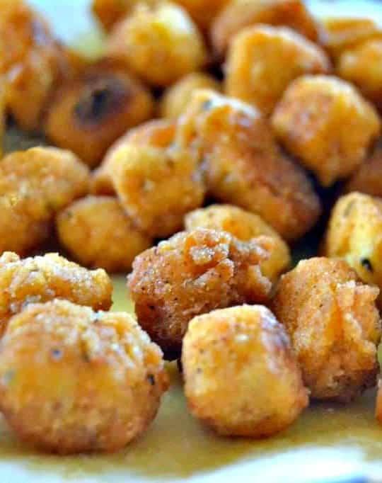 popcorn tofu that tastes like Chick-Fil-A