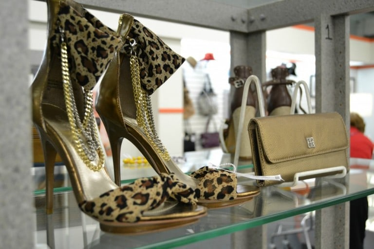 leopard high heel shoes