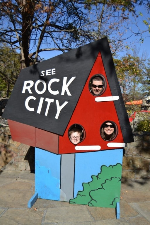 See Rock City in Chattanooga, Tennessee