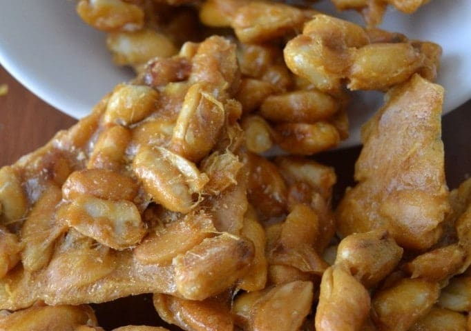 Vernel's Peanut Brittle