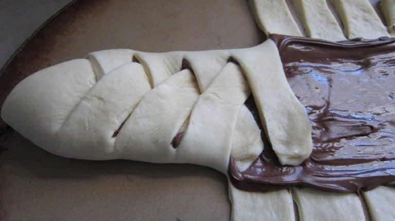 Chocolate Bread aka Nutella Bread | SouthernKissed.com