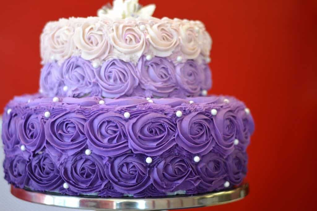 Gluten-free Wedding Cake at Mason Dixon Bakery in Huntsville, Alabama