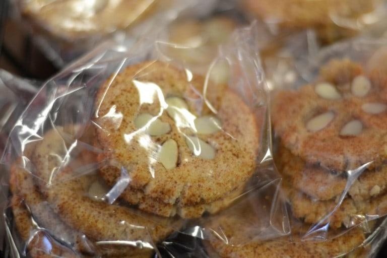 Gluten-free sand dollar cookies