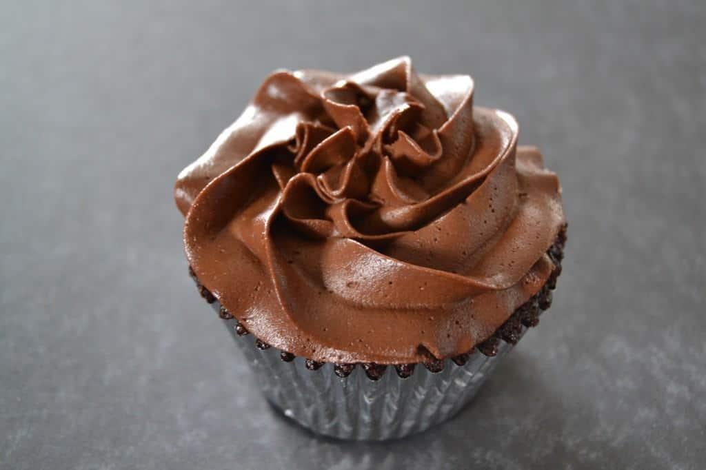 Gluten Free Chocolate Cupcake at Mason Dixon Bakery in Huntsville