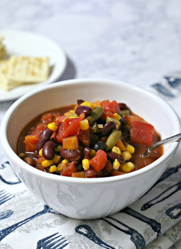 Easy Seven Can Soup Recipe