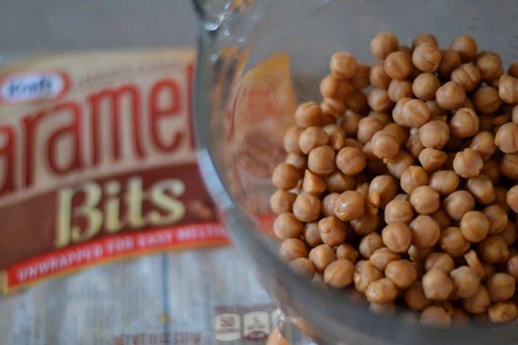 Caramel bits