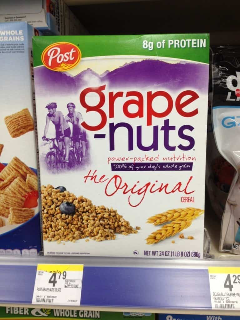 box of Grape Nuts