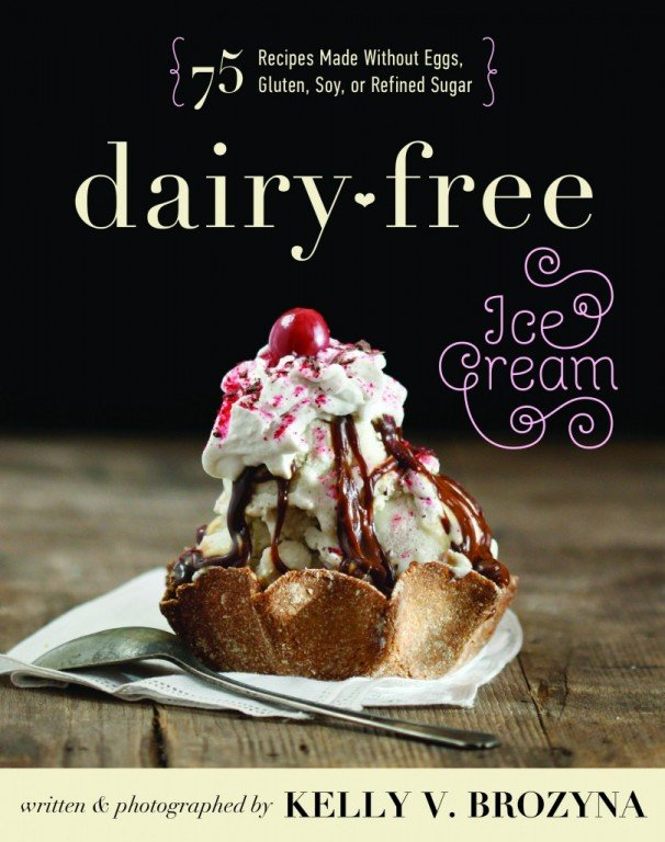 DAIRY FREE Ice Cream cookbook