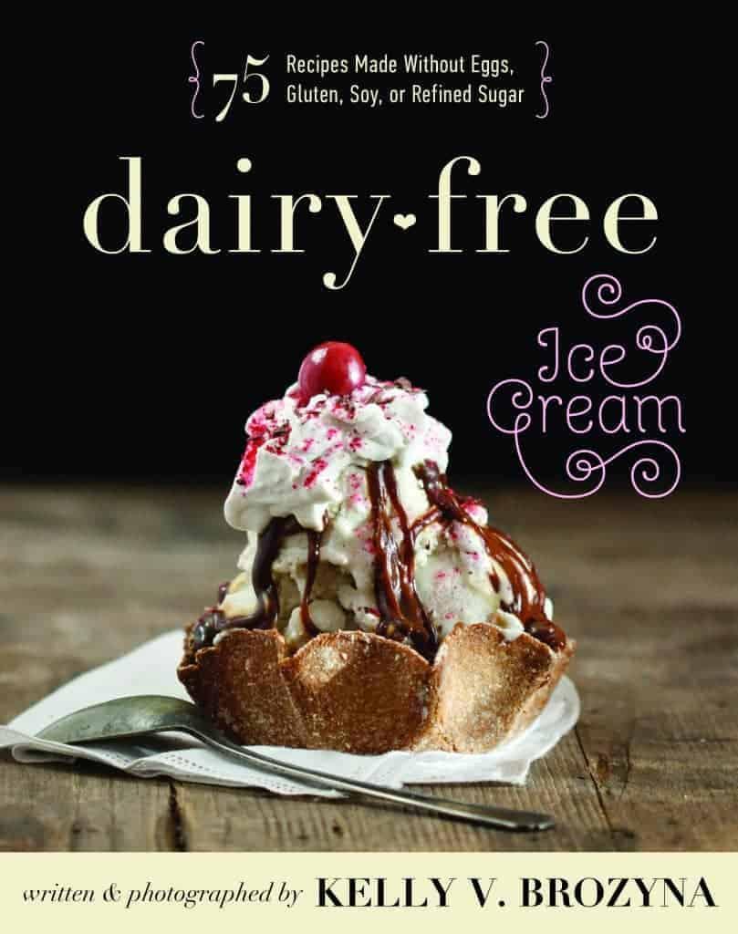DAIRY FREE Ice Cream cookbook