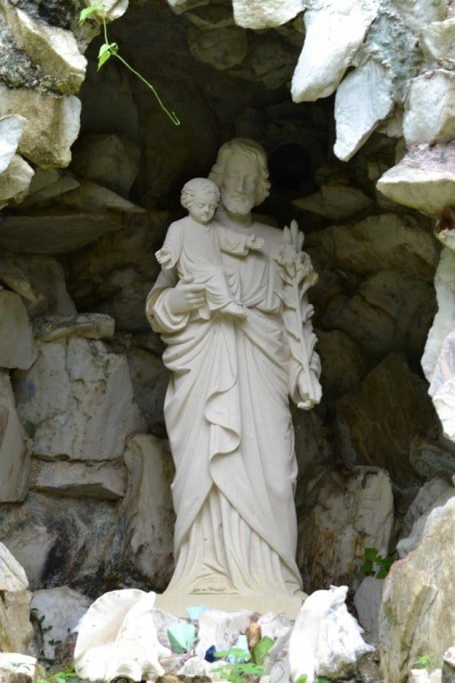Ave Maria Grotto in Cullman, Alabama