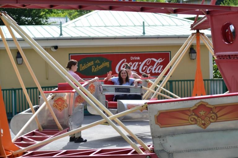 Scrambler at Dollywood | SouthernKissed.com