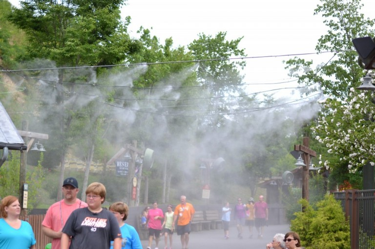 Keeping cool @Dollywood