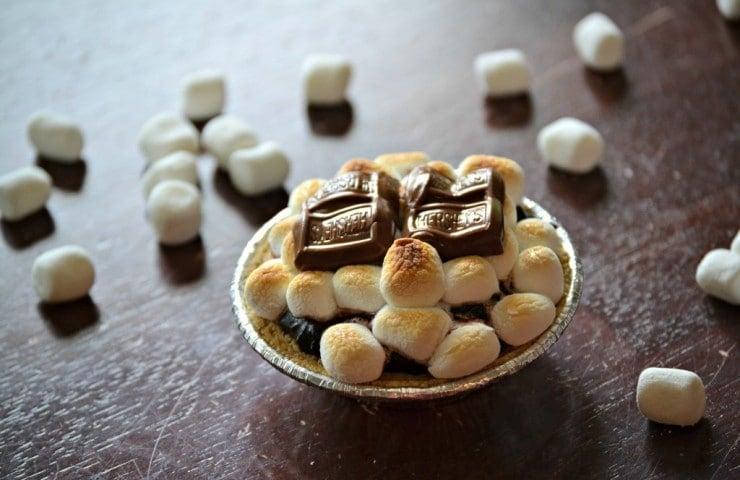 Mini S'Mores Pies