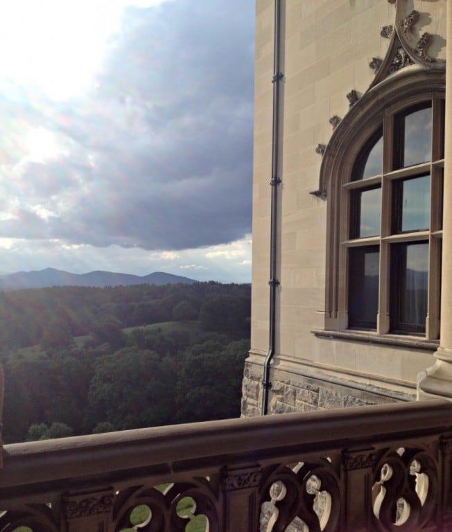 View from Biltmore's terrace