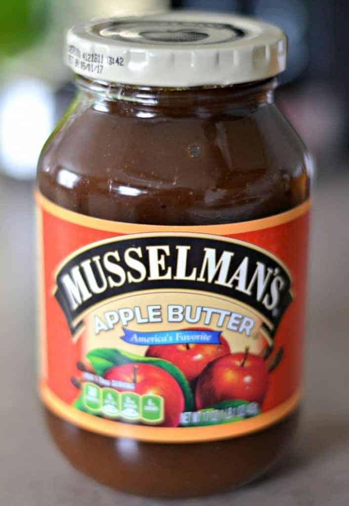 jar of Musselman's Apple Butter