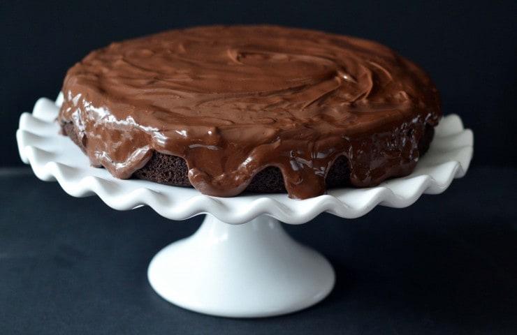 Black & White Cake from The Paleo Kitchen