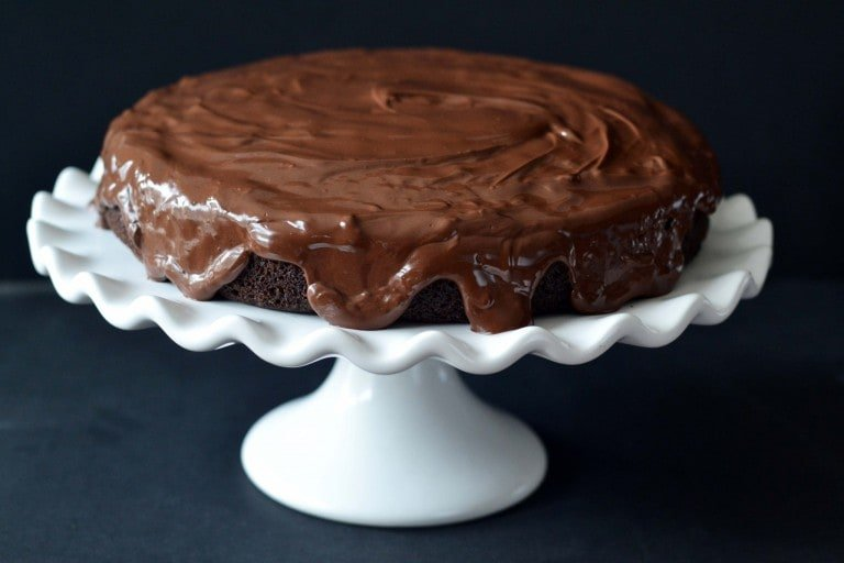 Black and White Cake from The Paleo Kitchen