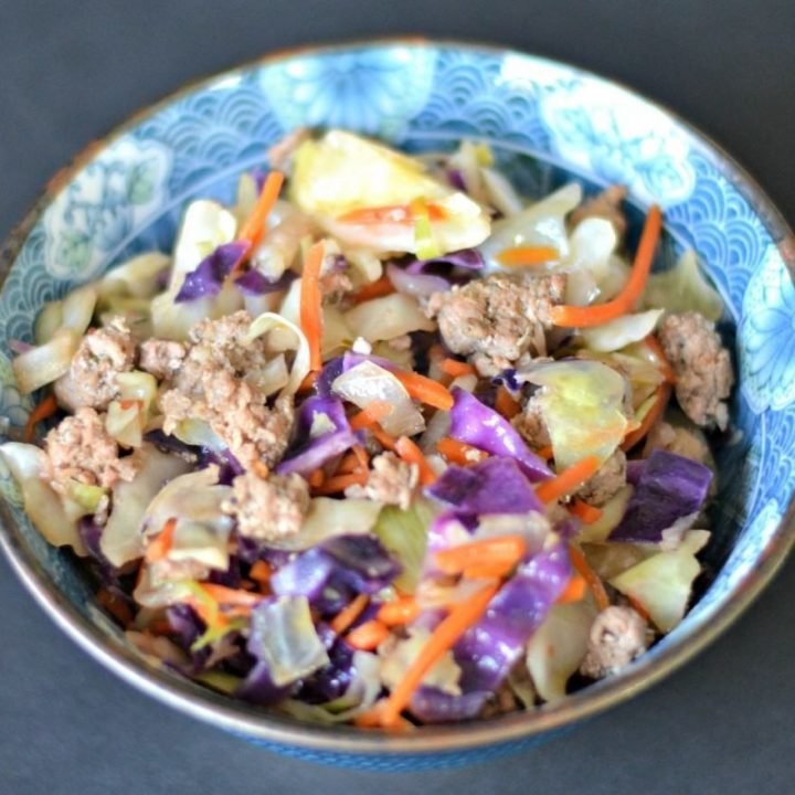 Deconstructed Egg Roll