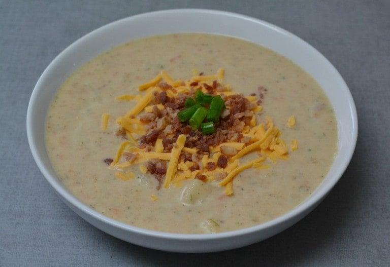 bowl of Potato Soup