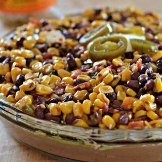Black Bean and Corn Salsa Dip #MyBrothersSalsa #CollectiveBias