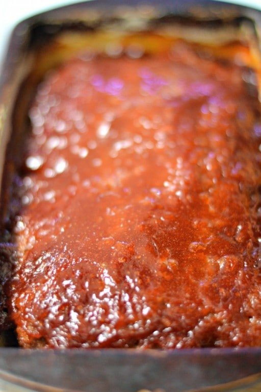 Brown Sugar Glazed Meatloaf | SouthernKissed.com