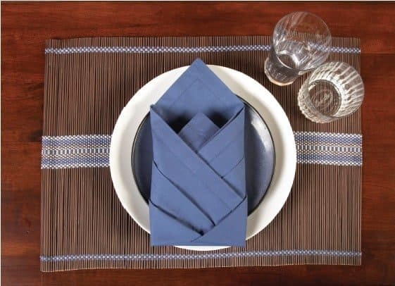 High Tower Single Shot Napkin Fold