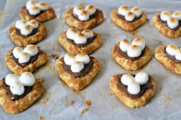 Marshmallow Smores Cookies