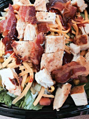 Wendy's BBQ Chicken Salad