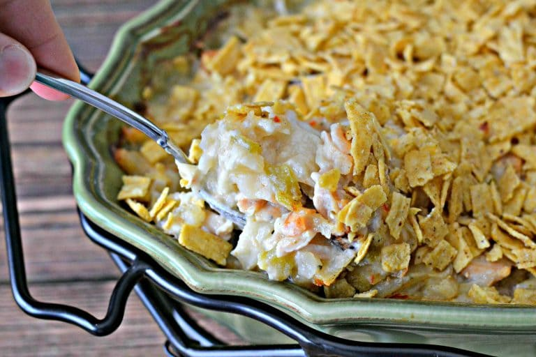 Chicken Fiesta Casserole | SouthernKissed.com #Chicken #Dinner #Recipe