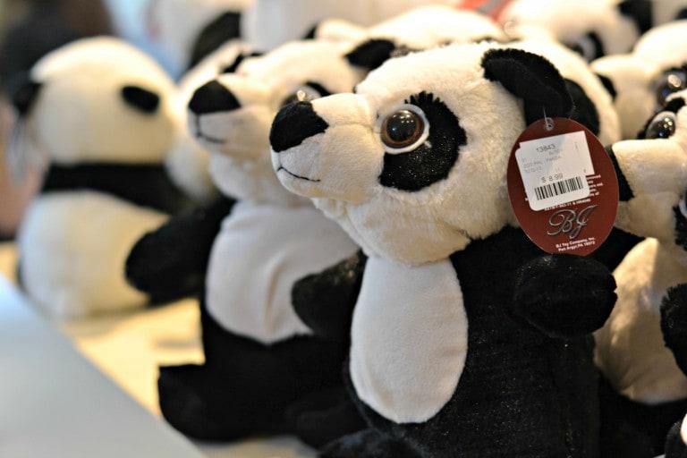 stuffed panda toys
