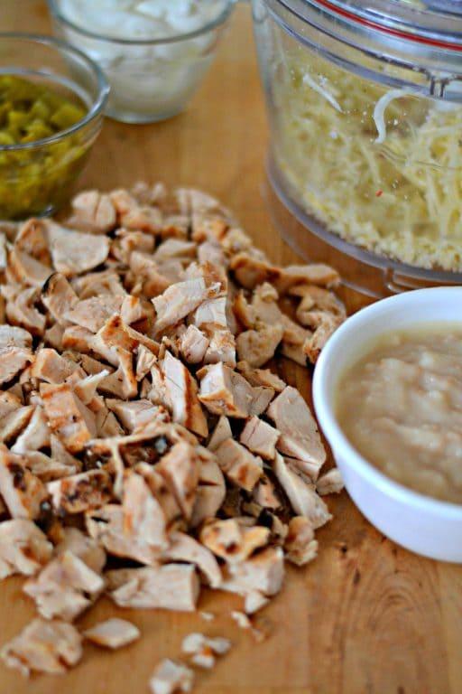 Ingredients for Fiesta Chicken Potatoes