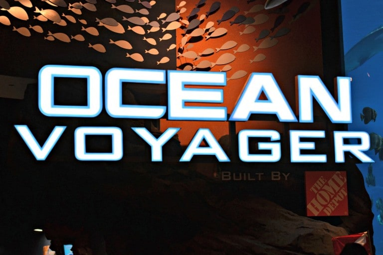 Ocean Voyager sign