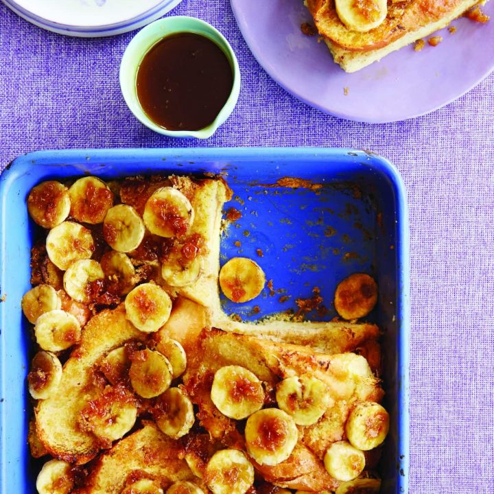 Baked French Toast With Banana Brûlée from Southern Made Fresh