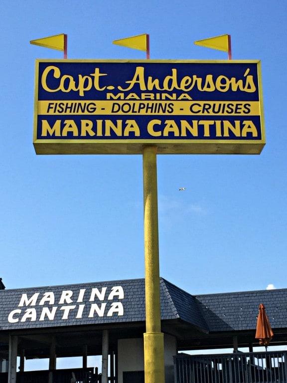 Captain Anderson's Marina in Panama City Beach