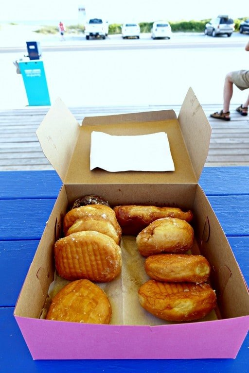 box of assorted donuts