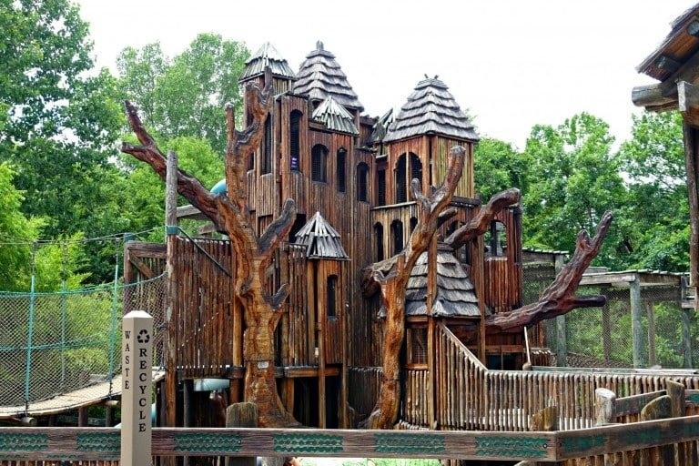 playground at the zoo