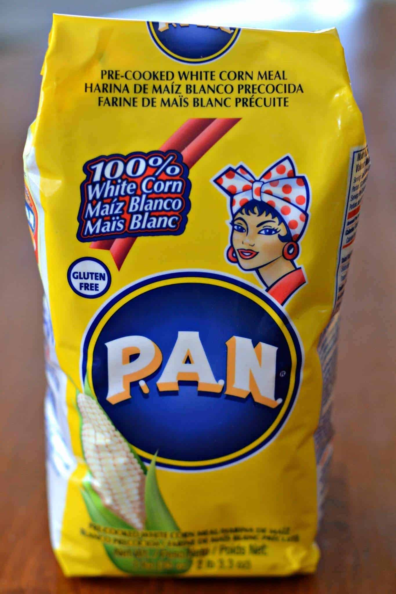 bag of PAN cornmeal