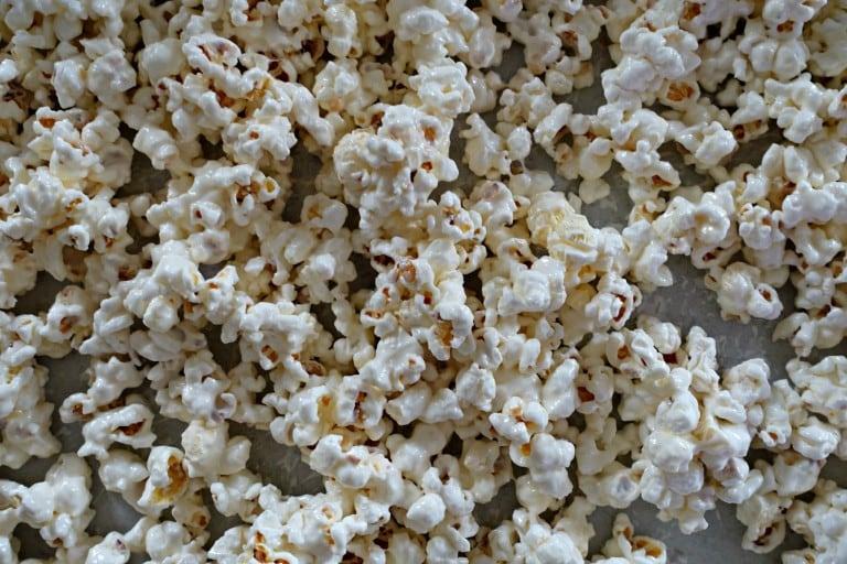 Coated Popcorn