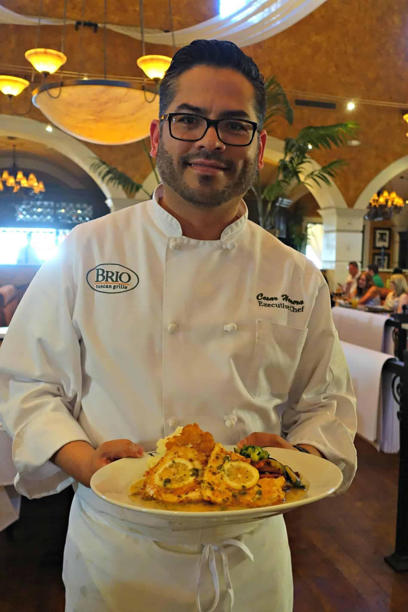Executive Chef at Brio in Las Vegas