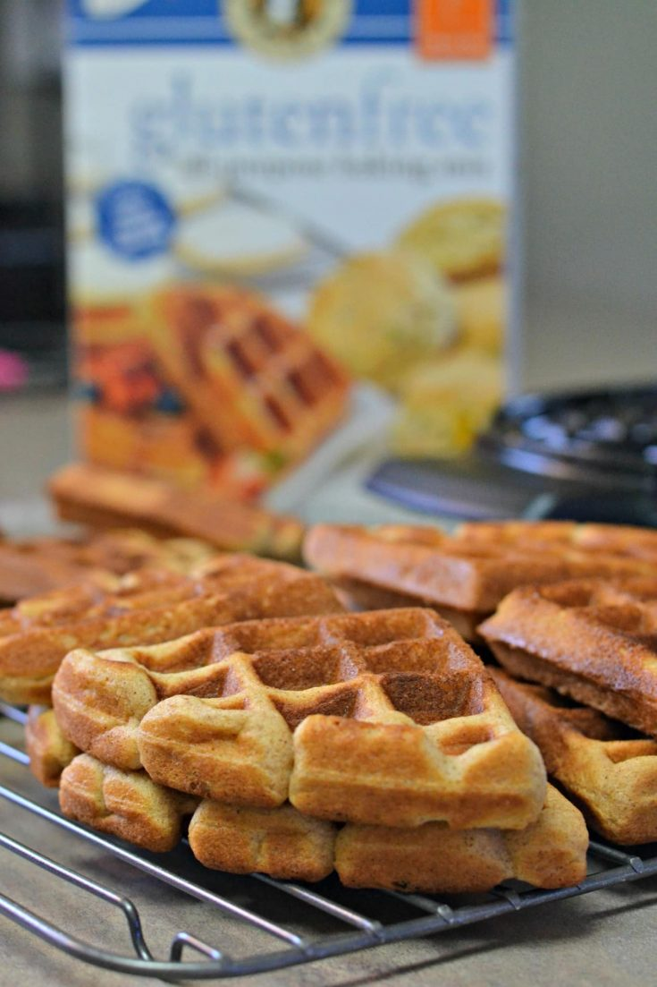 Easy Cinnamon Maple Waffles