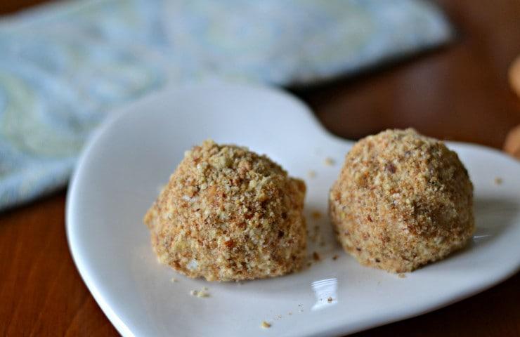 Chef Antonia Lofaso's Toasted Almond & Vanilla Arancini