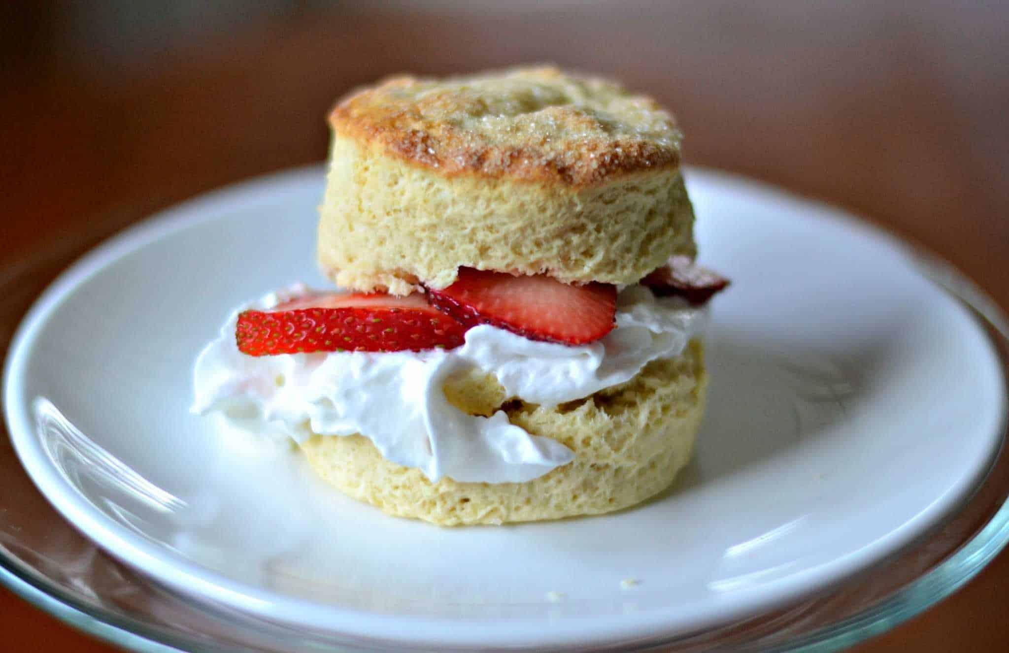 King Arthur Flour Strawberry Shortcake