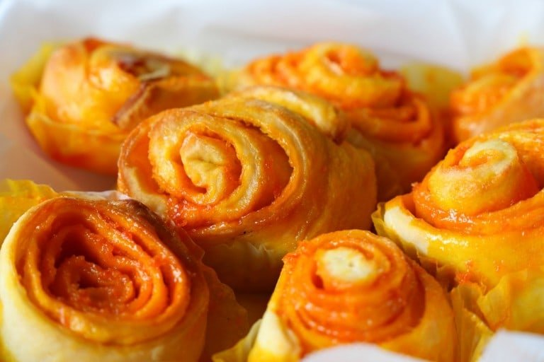 All Steak Orange Rolls
