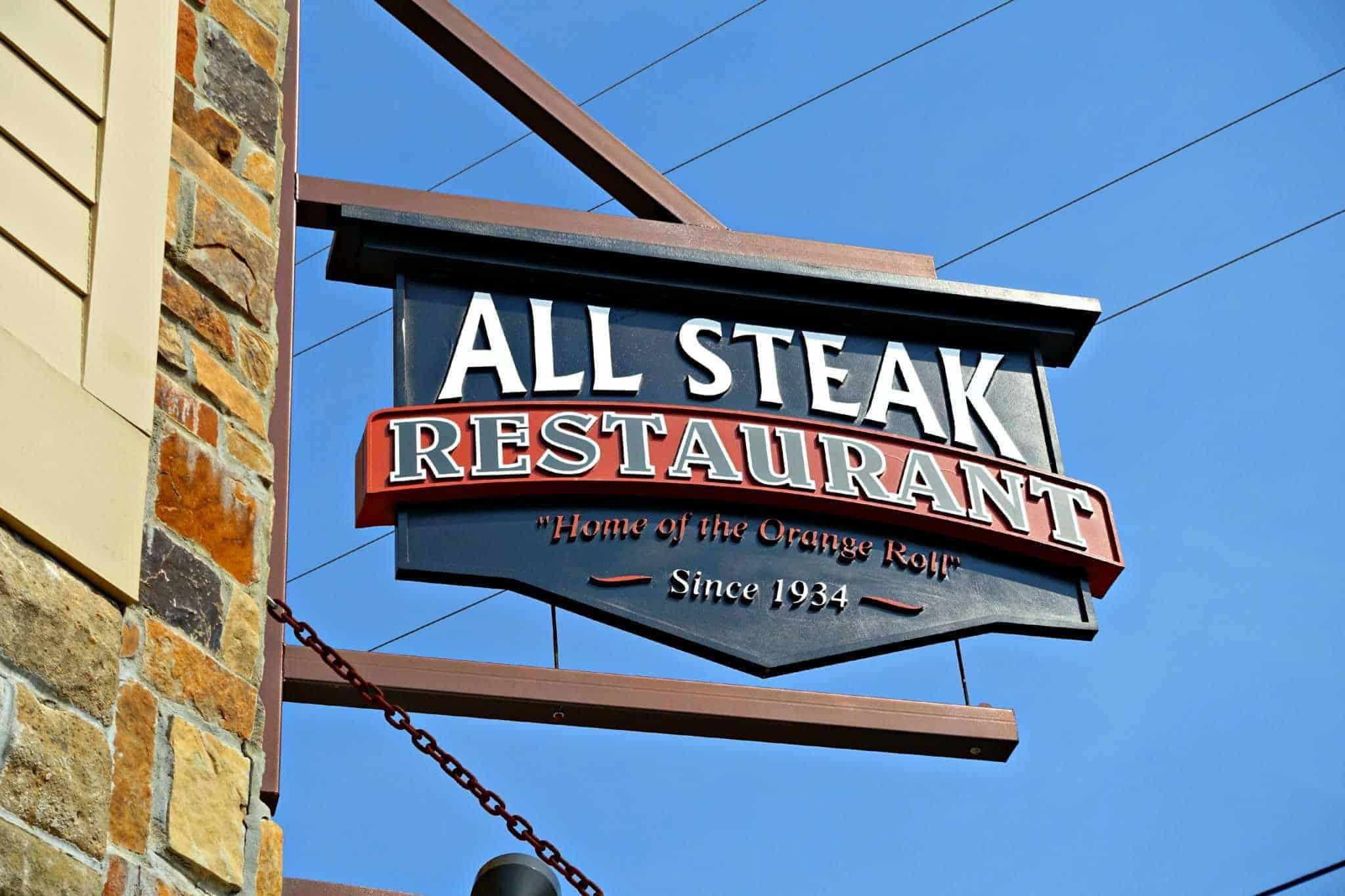 All Steak Restaurant in Cullman, Alabama