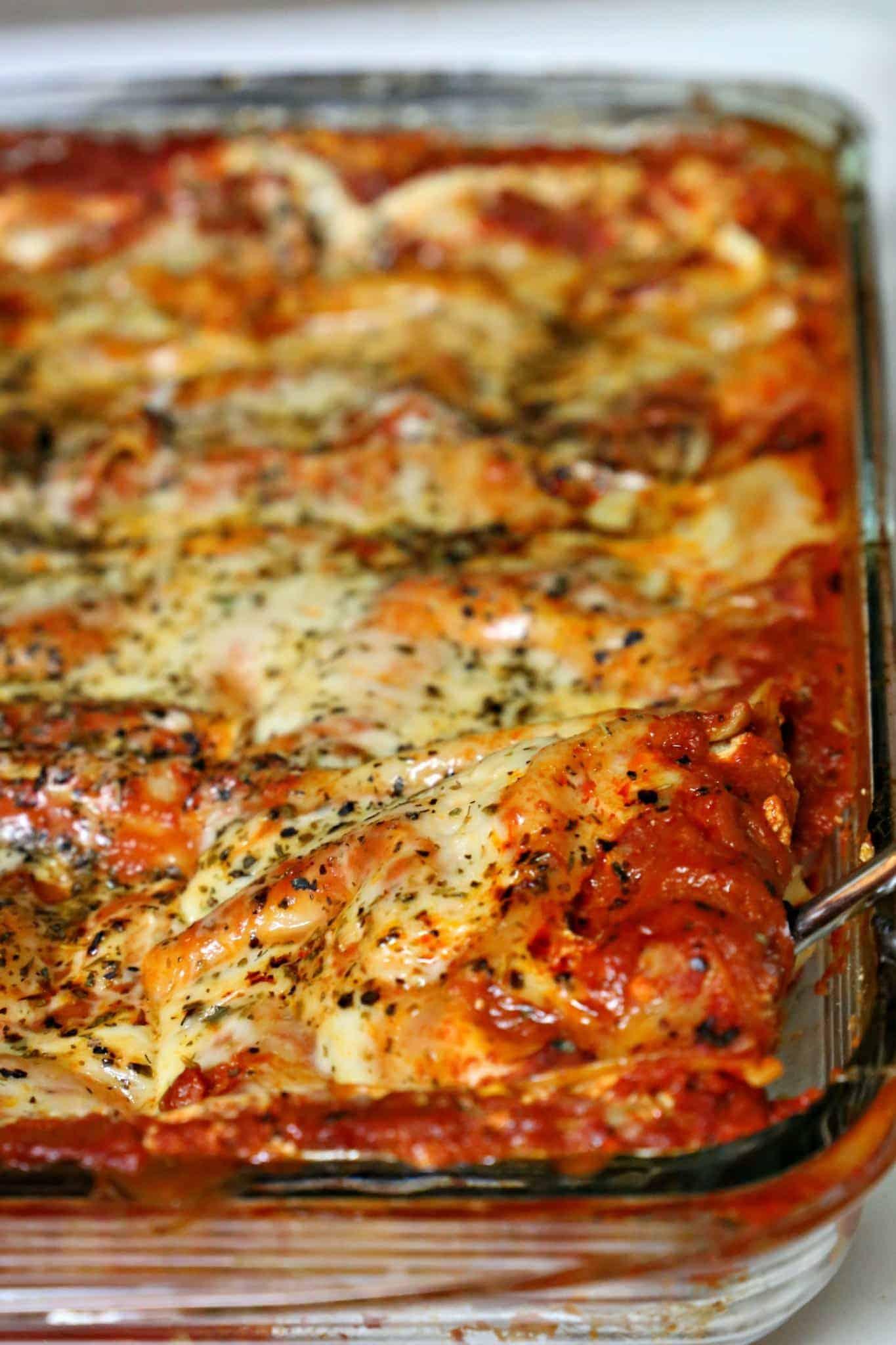 Julie's Cheesy Lasagna