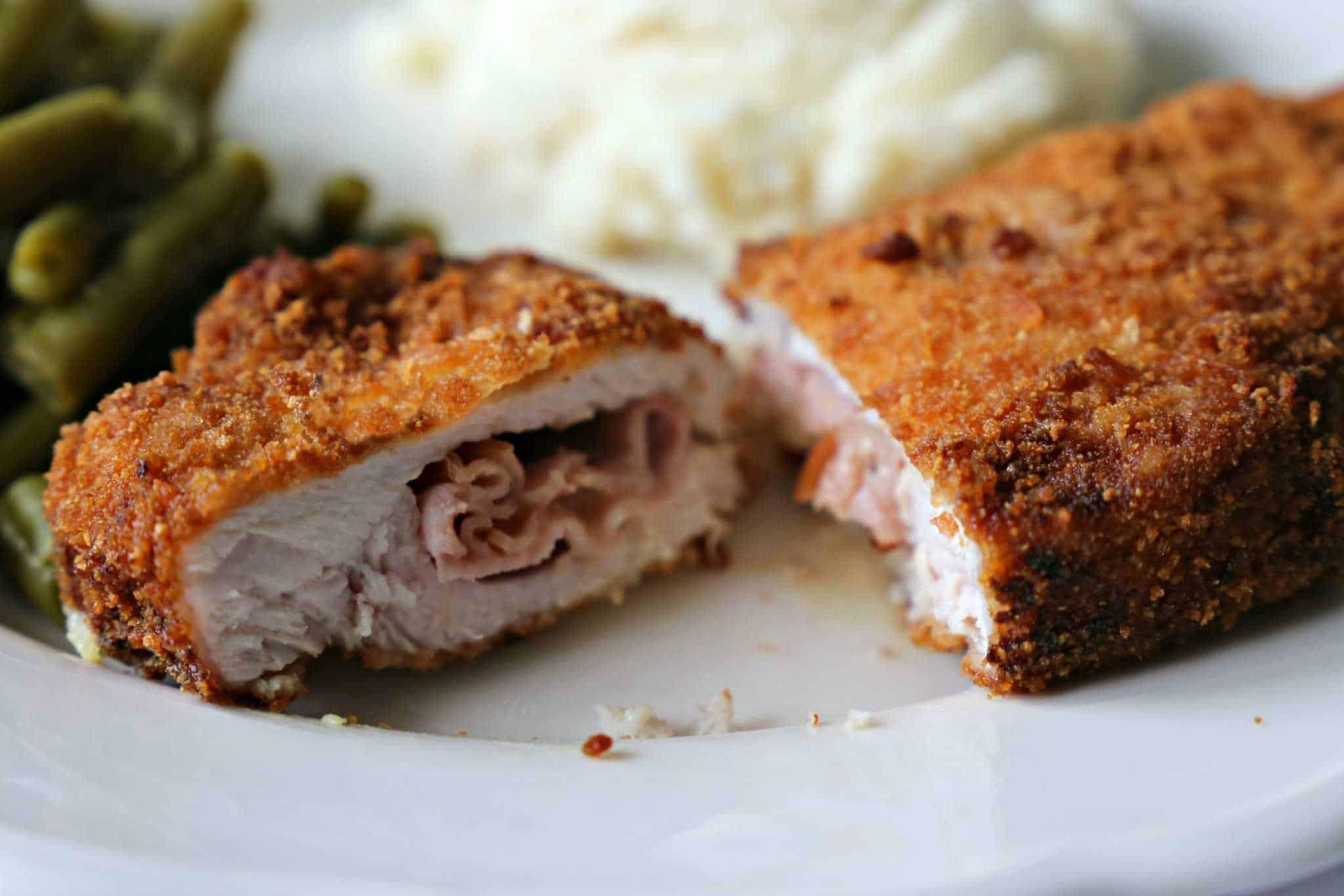 Southern Pork Cordon Bleu