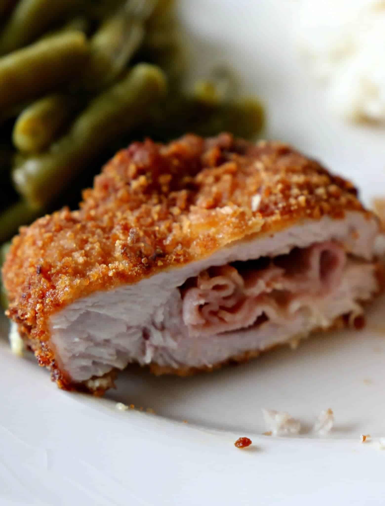 Recipe for cordon bleu pork