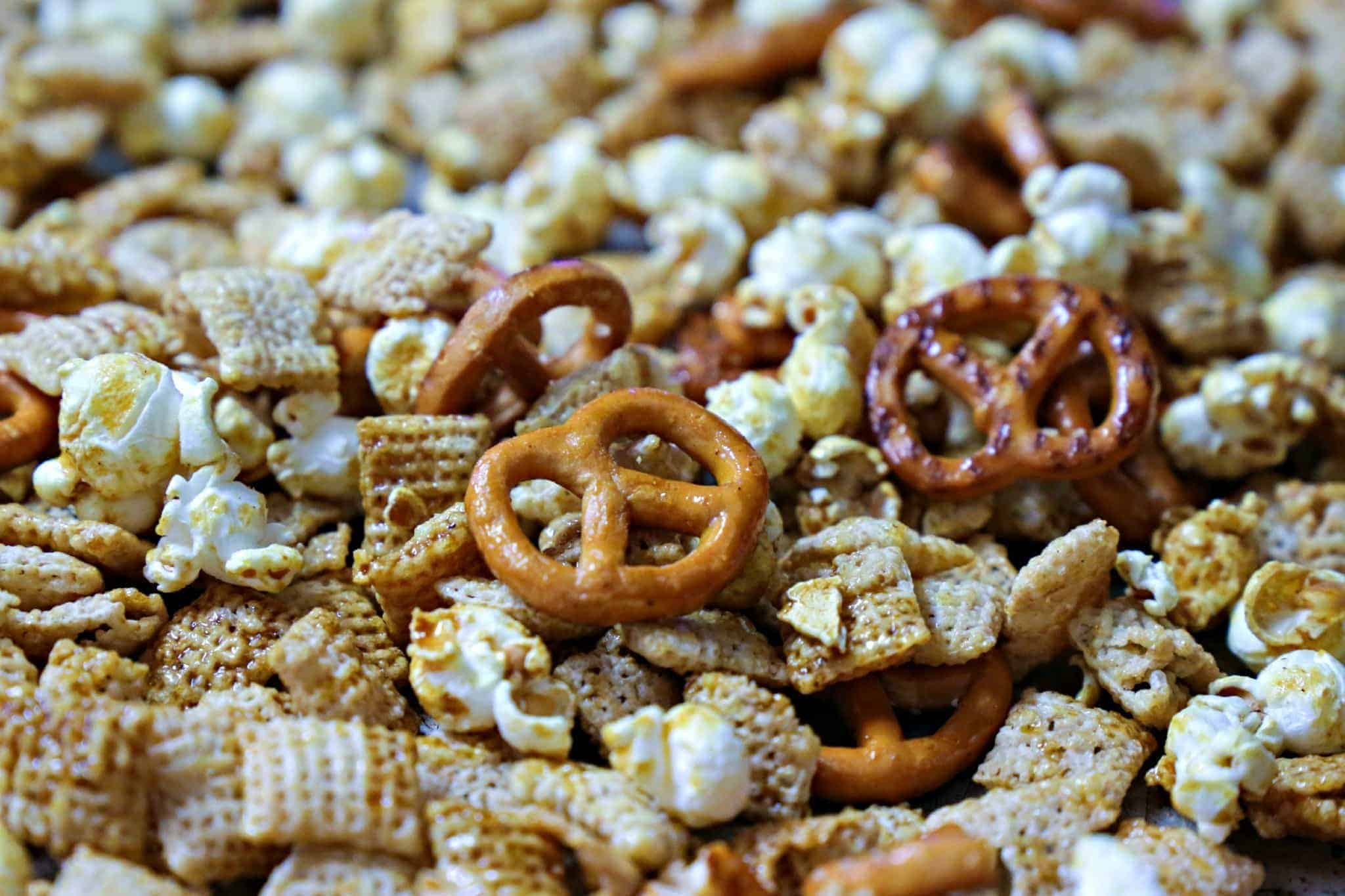 wasabi snack mix recipe with chex mix